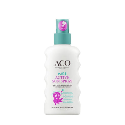 ACO SUN Kids Active sun spray spf 50+ -aurinkosuojaspray lapsille
