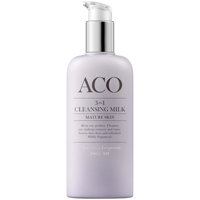 ACO FACE 3 IN 1 CLEANSING MILK -puhdistusaine 3 in 1