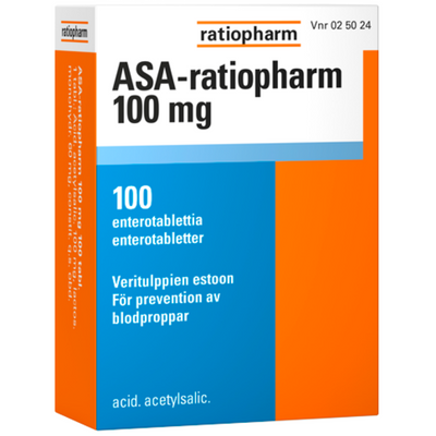 ASA-ratiopharm 100 mg
