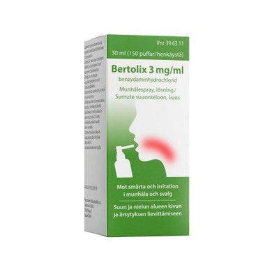 BERTOLIX 3 mg/ml -suusumute