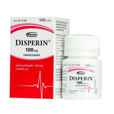 DISPERIN 100 mg tabletti