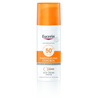 Eucerin Photoaging Control Sun Cream Tinted CC Medium SPF50+