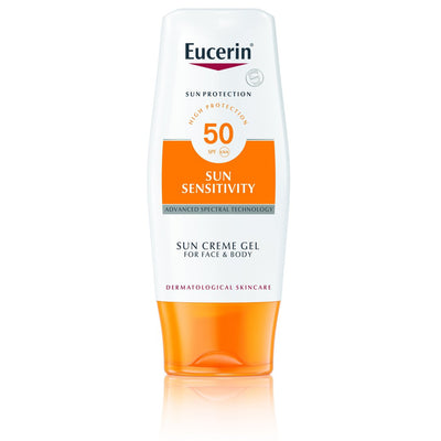 Eucerin Sun Sensitivity Cream Gel Face & Body SPF50+