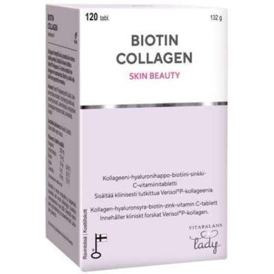 Biotin Collagen 120 tablettia