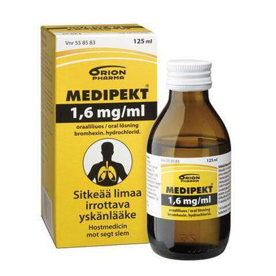 MEDIPEKT 1,6 mg/ml 125 ml