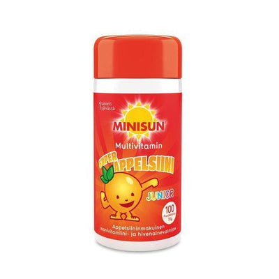 MINISUN MULTIVITAMIN JUNIOR 100/200 tabl