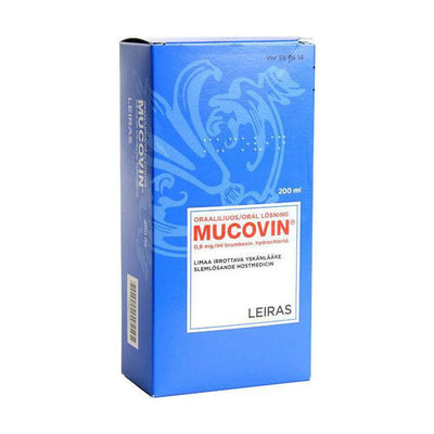 MUCOVIN 0,8 mg/ml 200 ml