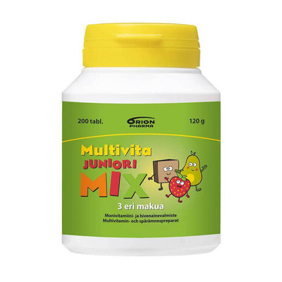 Multivita Juniori MIX - 200 tabl