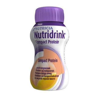 NUTRIDRINK COMPACT PROTEIN PERSIKKA-MANGO 4 x 125 ml