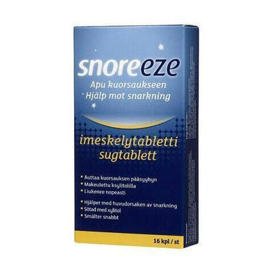 Snoreeze imeskelytabletti