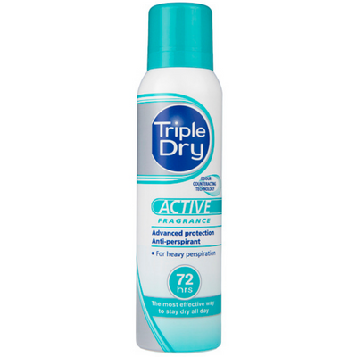 Triple Dry ACTIVE Women Spray antiperspirantti 150 ml