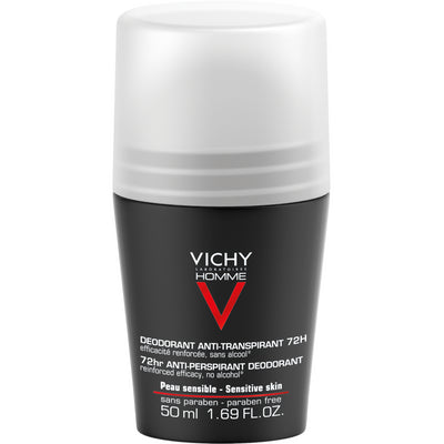 Vichy Homme antiperspirantti 72h roll-on