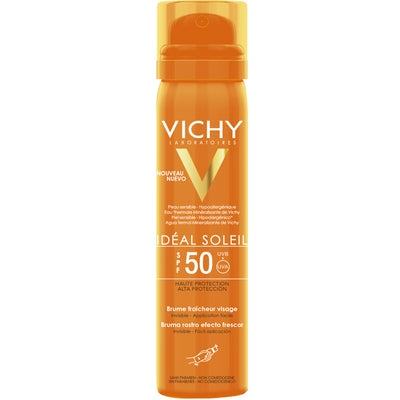 Vichy Ideal Soleil Fresh Face Mist kasvot SPF50