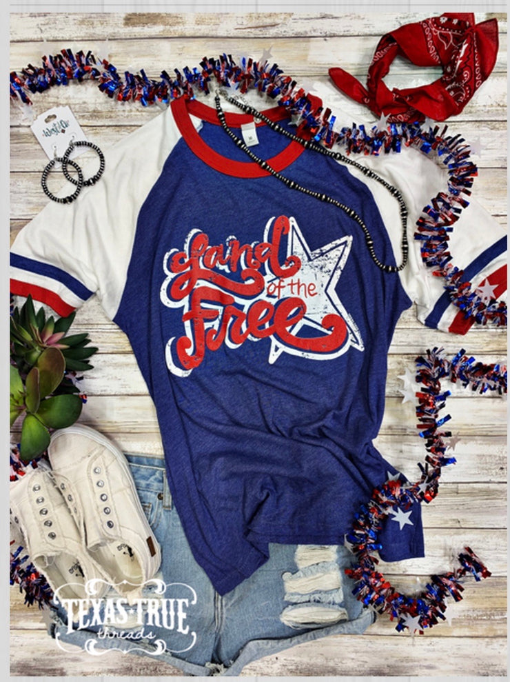 Land of the Free Tee - Forever Western Boutique