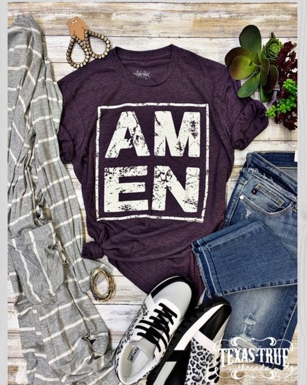 Amen Tee - Forever Western Boutique