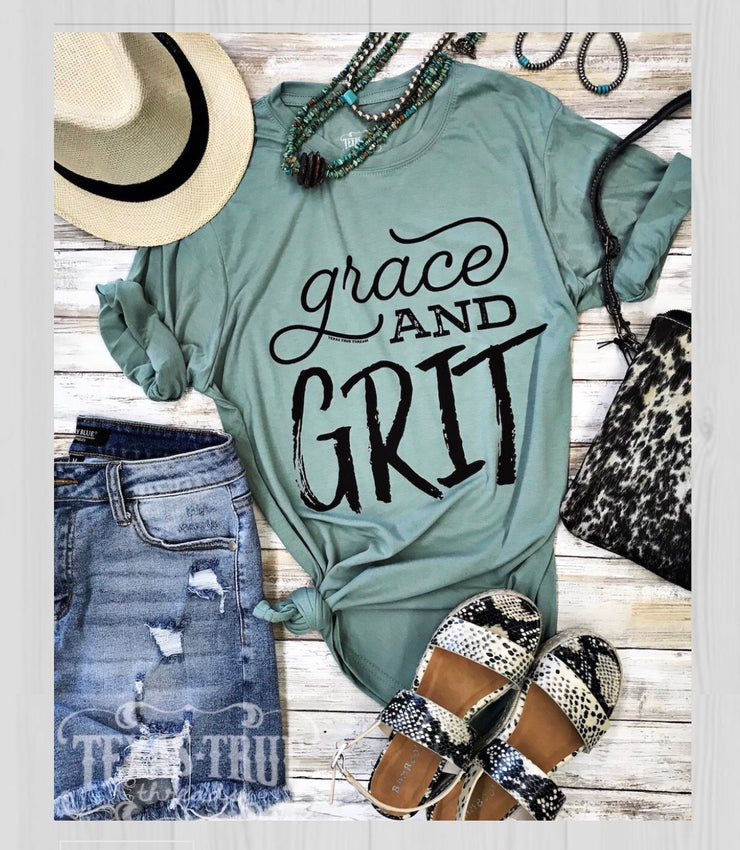 Grace and Grit Tee - Forever Western Boutique