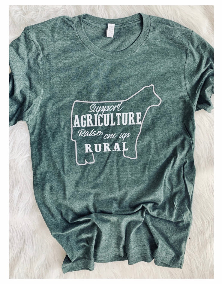 Support Agriculture Tee - Forever Western Boutique