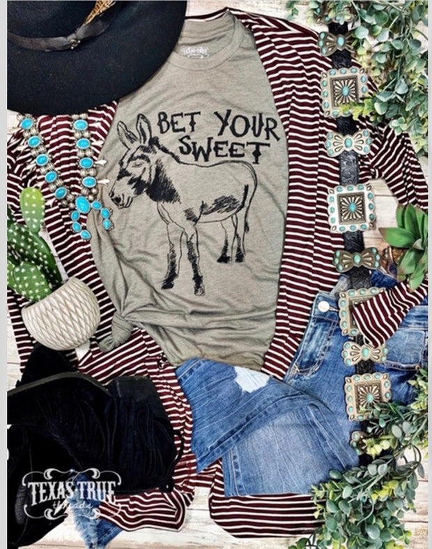 Bet your Sweet Tee - Forever Western Boutique