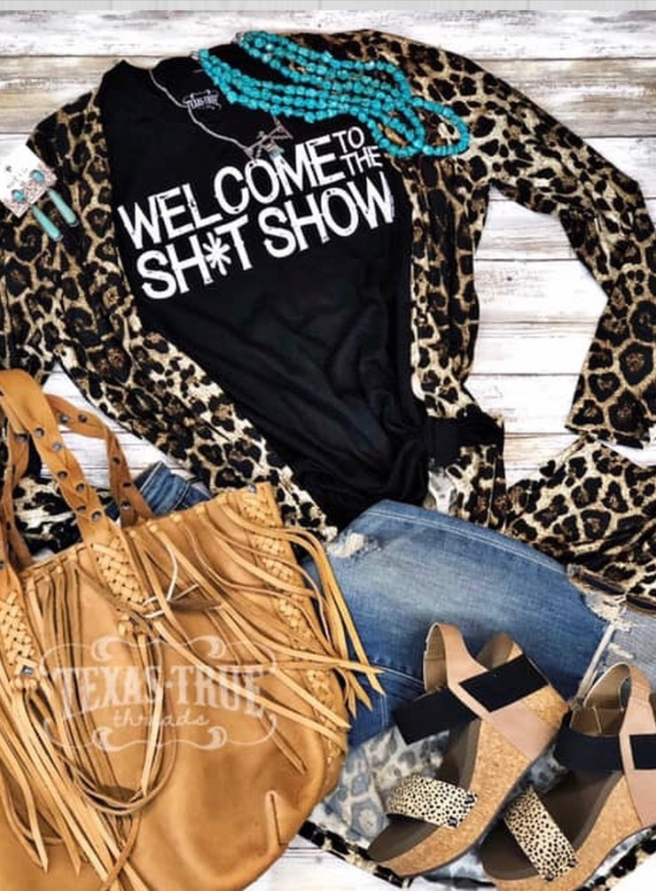 Welcome to the Sh*t Show Tee - Forever Western Boutique