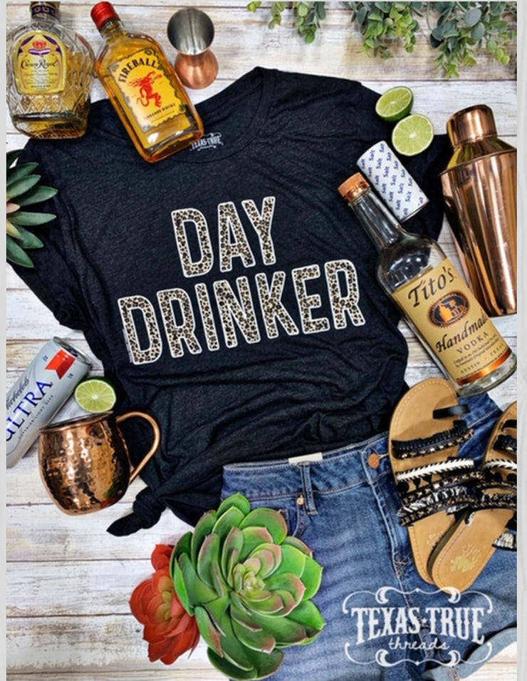 Day Drinker Leopard INK ONLY - Forever Western Boutique