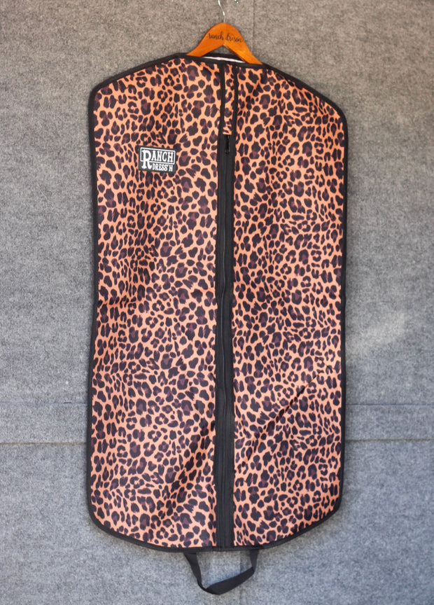 Leopard Garment Bag~ Ranch Dressn