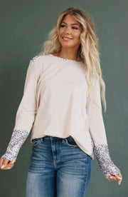 Another Lifetime Leopard Top - Forever Western Boutique