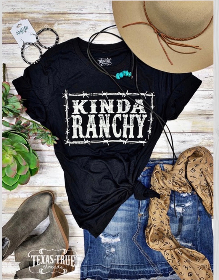 Kinda Ranchy Tee - Forever Western Boutique