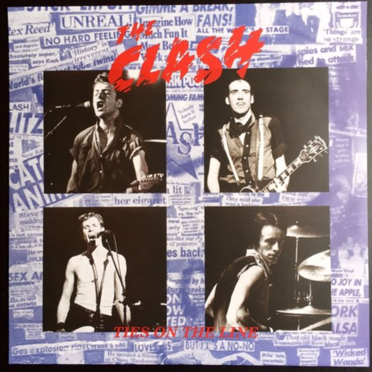 THE CLASH - TIES ON THE LINE Vinyl LP