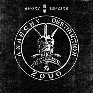 ZOUO - AGONY REMAINS Vinyl LP