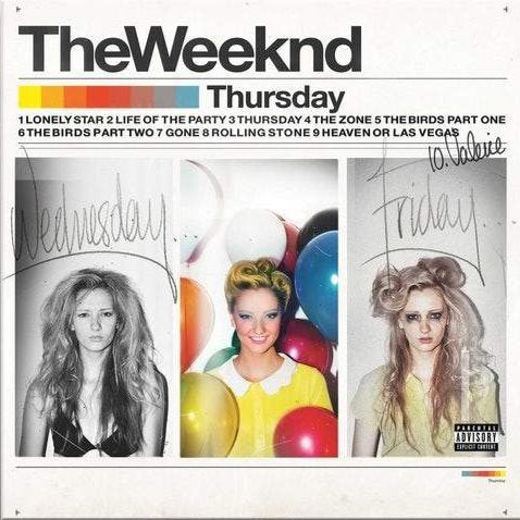 THE WEEKND - THURSDAY (Double Vinyl) LP