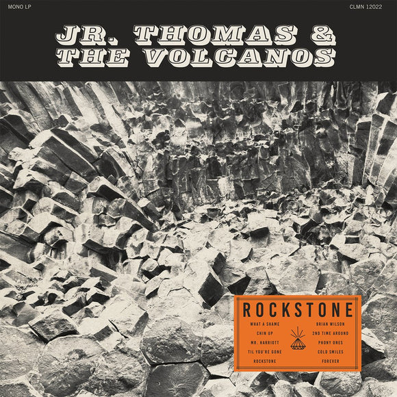 JR. THOMAS & THE VOLCANOS - ROCKSTONE (Lava Color Vinyl)