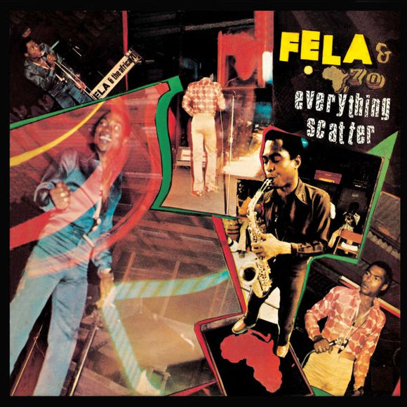 FELA KUTI - EVERYTHING SCATTER Vinyl LP