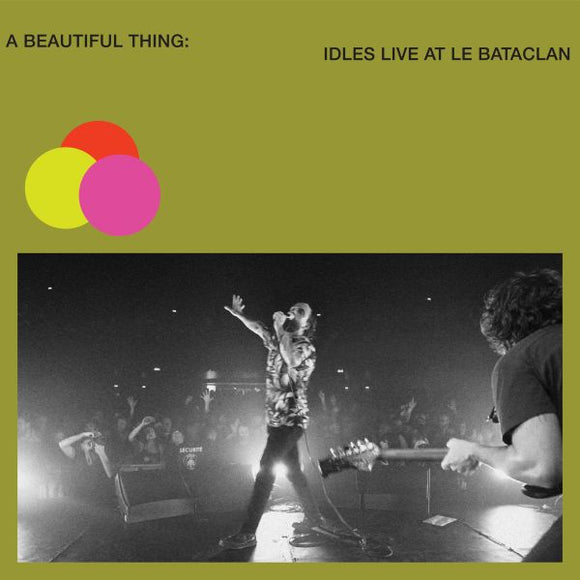 IDLES - A BEAUTIFUL THING IDLES LIVE AT BATACLAN Vinyl LP