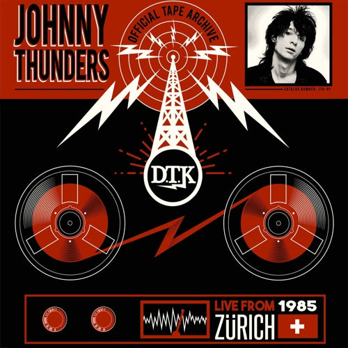THUNDERS, JOHNNY - LIVE FROM ZURICH 1985 Vinyl LP