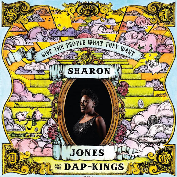 SHARON JONES & THE DAP-KINGS - GIVE THE PEOPLE WHAT THEY WANT Vinyl LP