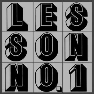 GLENN BRANCA - LESSON NO. 1 (Double Vinyl) LP