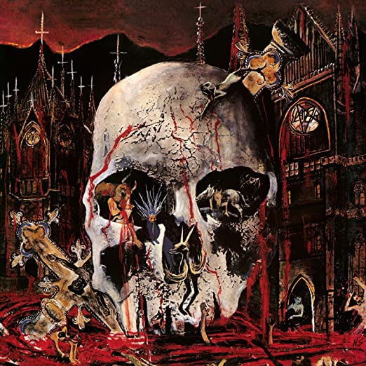 SLAYER - SOUTH OF HEAVEN vinyl LP