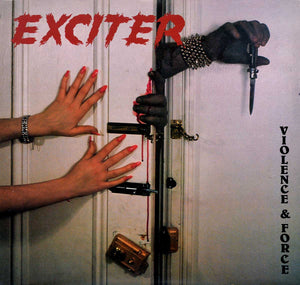 EXCITER - VIOLENCE & FORCE Vinyl LP