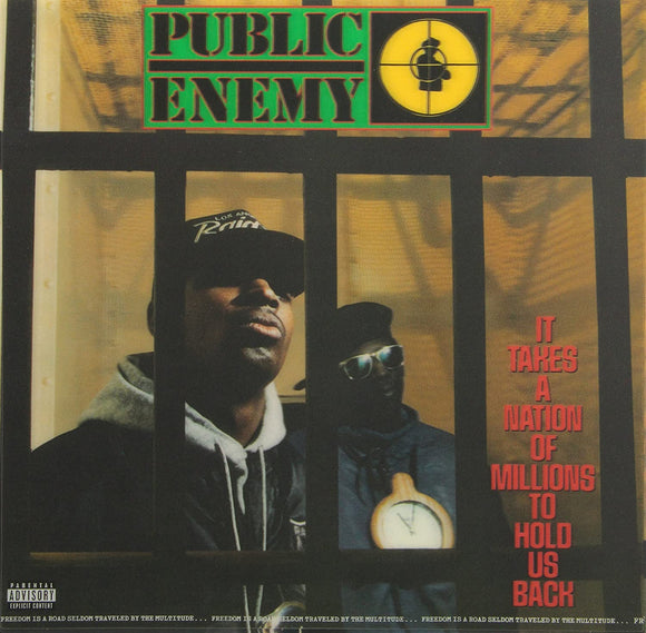 PUBLIC ENEMY - IT TAKES A NATION OF MILLIONS TO HOLD US BACK Vinyl LP