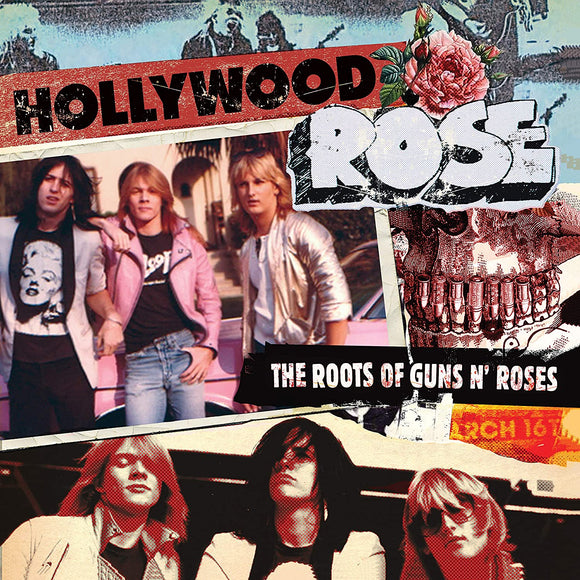 HOLLYWOOD ROSE - THE ROOTS OF GUNS N' ROSES Vinyl LP