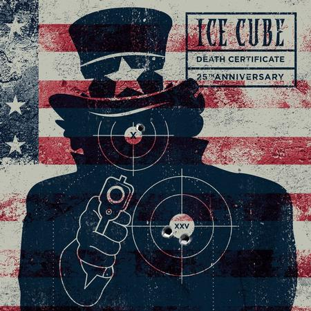 ICE CUBE - DEATH CERTIFICATE (25th Anniversary) 2xLP