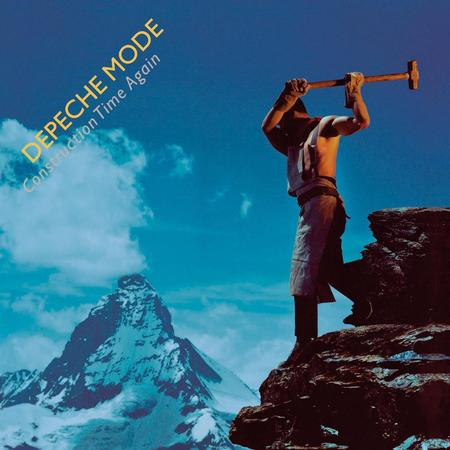 DEPECHE MODE - CONSTRUCTION TIME AGAIN Vinyl LP