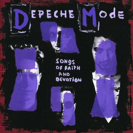DEPECHE MODE - SONGS OF FAITH AND DEVOTION Vinyl LP