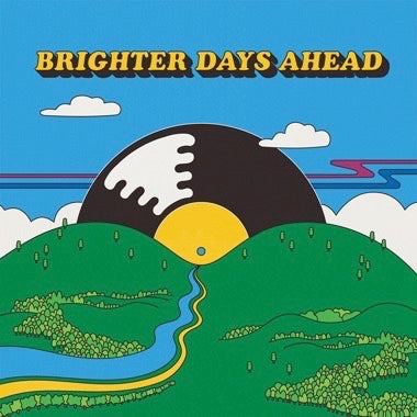 V/A - BRIGHTER DAYS AHEAD (Random Colored Vinyl) 2xLP