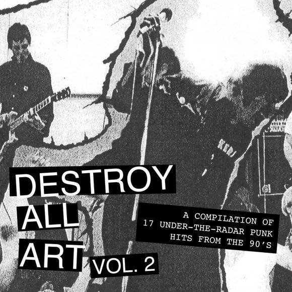 V/A - DESTROY ALL ART VOL. 2 LP