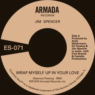JIM SPENCER - WRAP MYSELF UP IN YOUR LOVE Vinyl 7