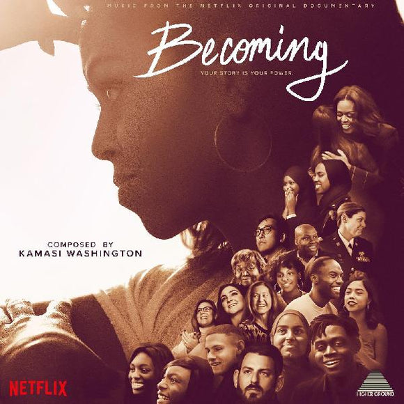 KAMASI WASHINGTON - BECOMING (Music From the Netflix Documentary) Vinyl LP