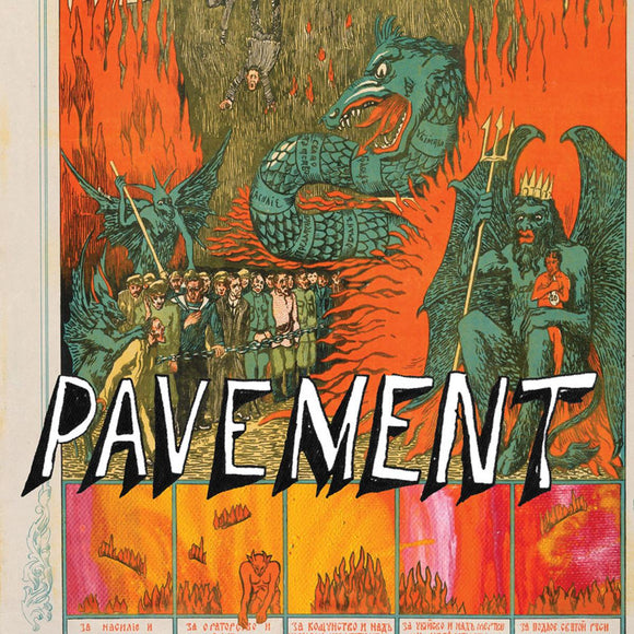 PAVEMENT - QUARANTINE THE PAST: THE BEST OF PAVEMENT Vinyl 2xLP