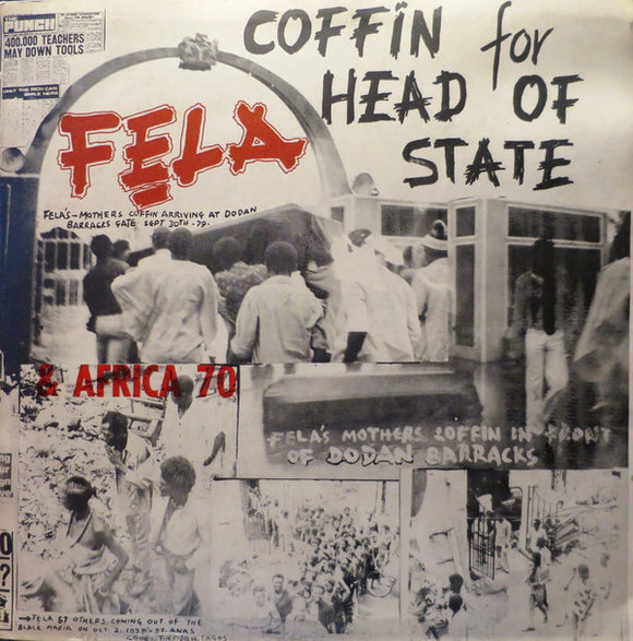 FELA KUTI - COFFIN FOR HEAD OF STATE LP