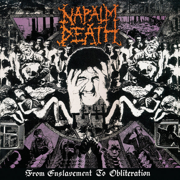 NAPALM DEATH - FROM ENSLAVEMENT TO OBLITERATION LP